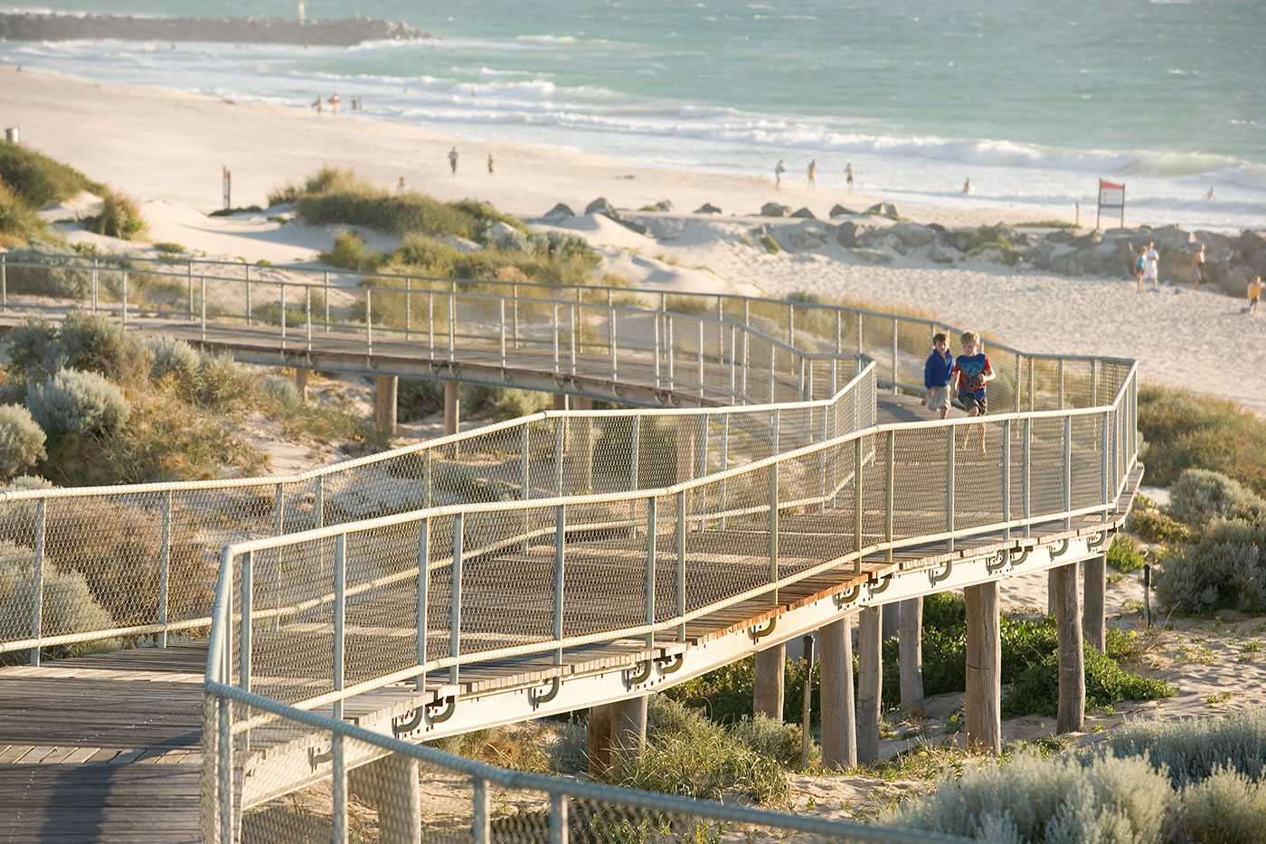 Beach Dune Boardwalk