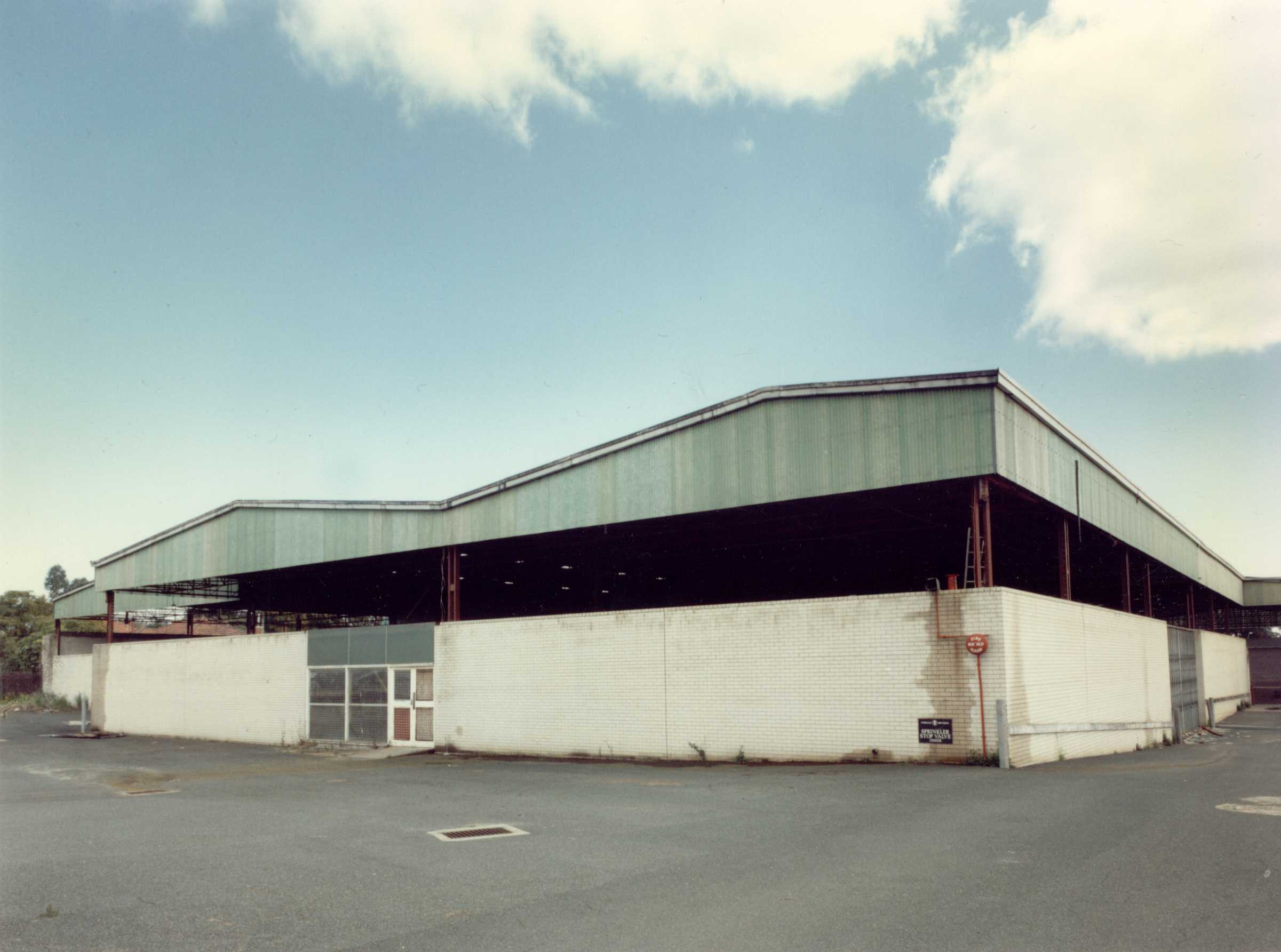 Belmont Warehouse Structure
