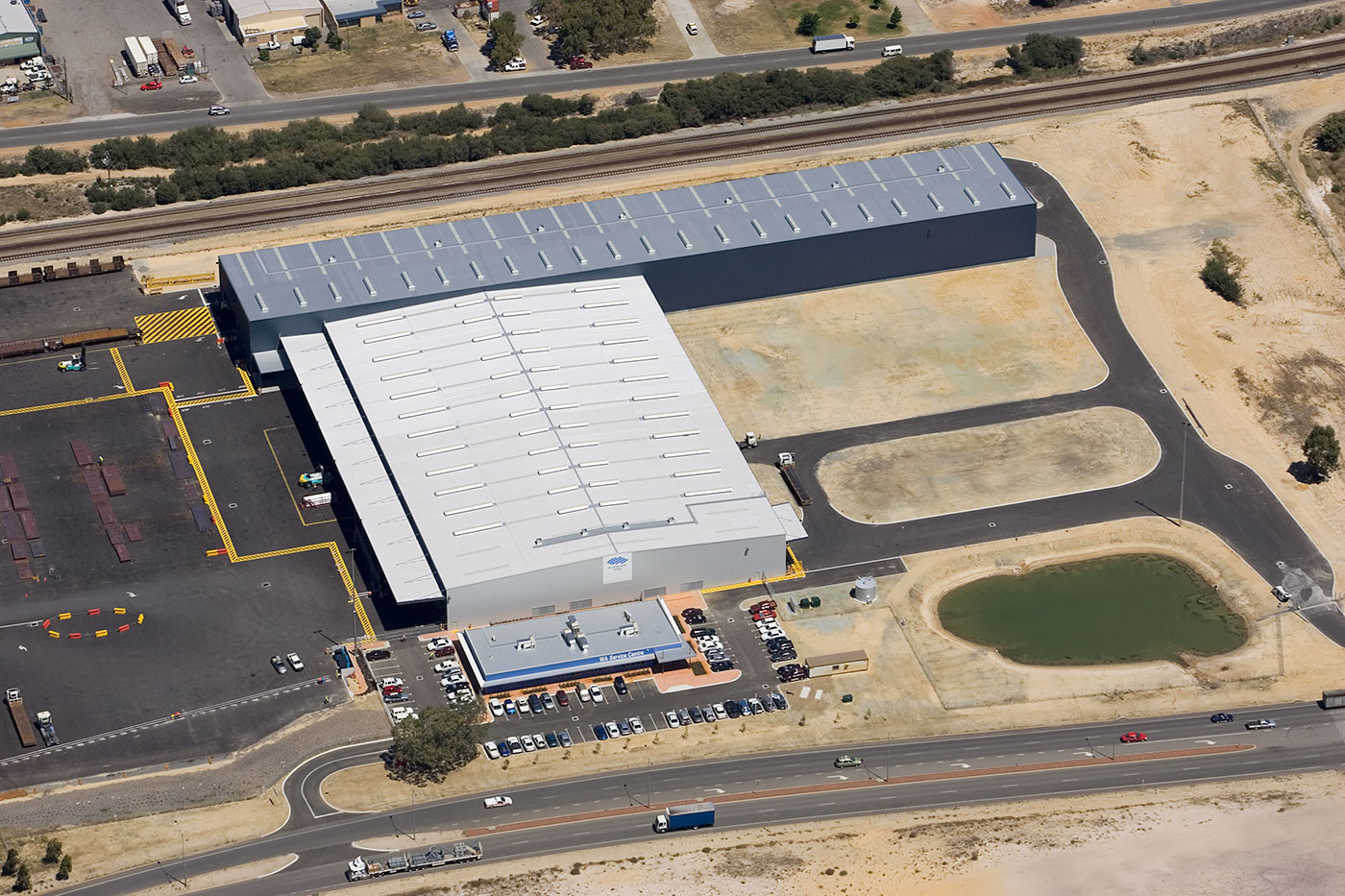 2007 ASI Award - BlueScope Steel Process and Logistics Facility