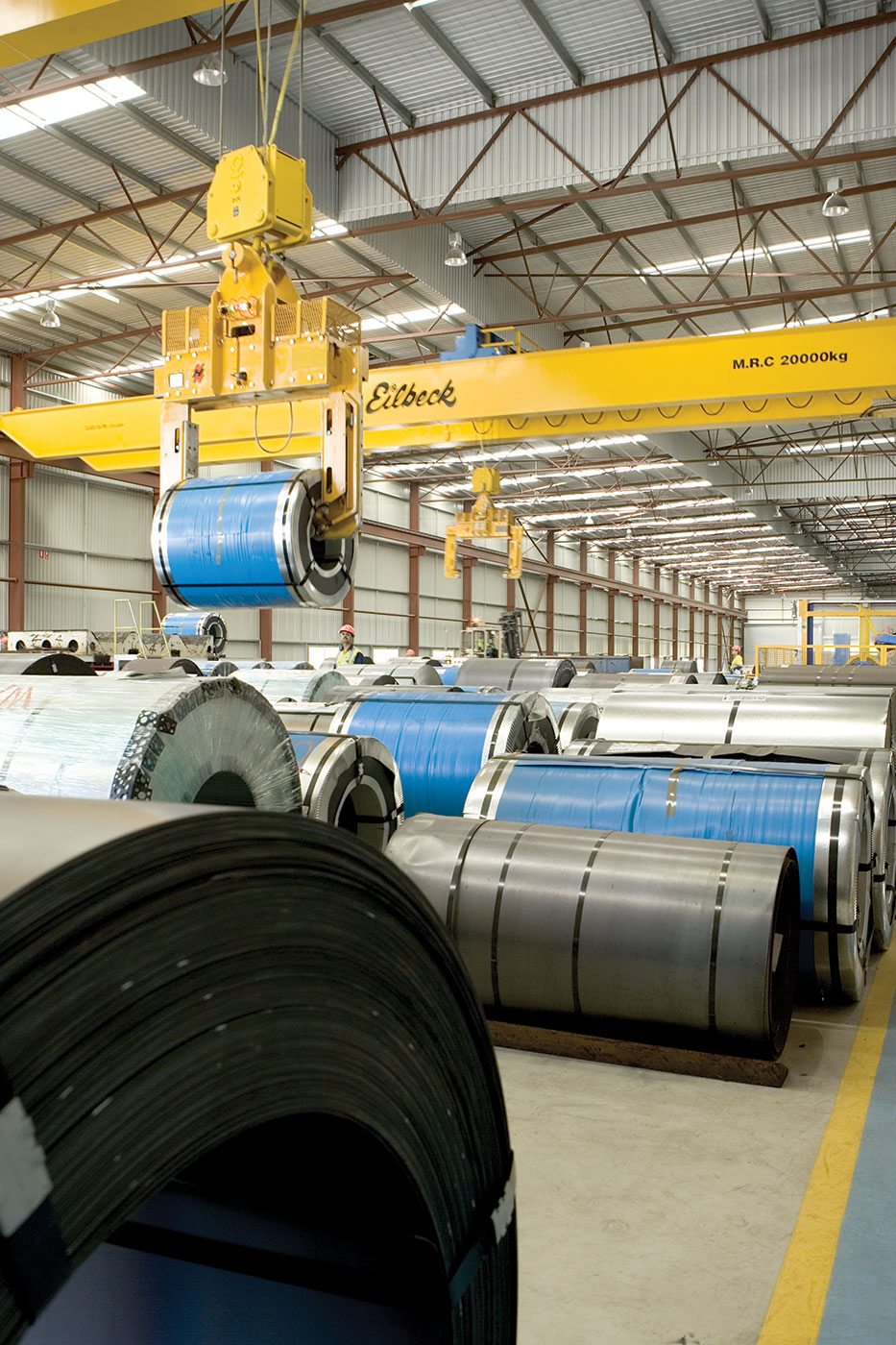 BlueScope Steel Process Facility