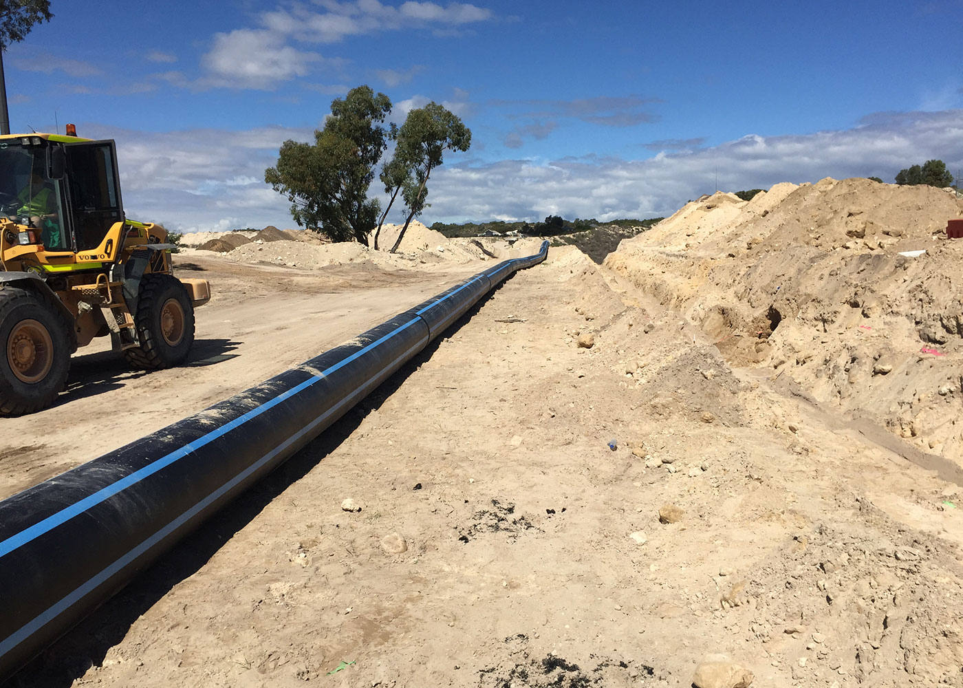 DN600 Water Distribution Main, Yanchep