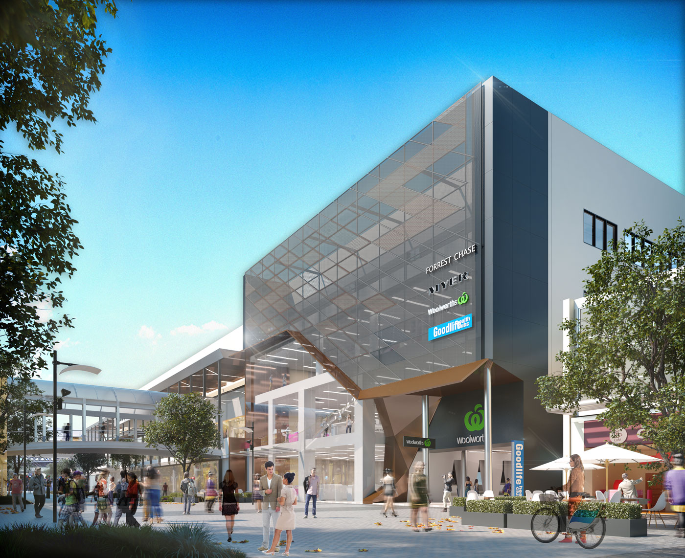 Forrest Chase Redevelopment - Pritchard Francis