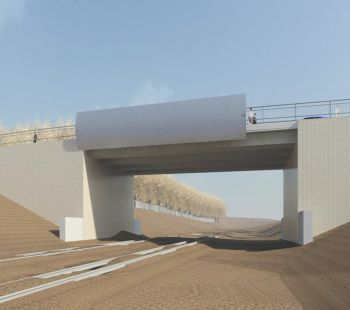 New Road Bridge at Injune Way, Joondalup Business Park - Stage 4