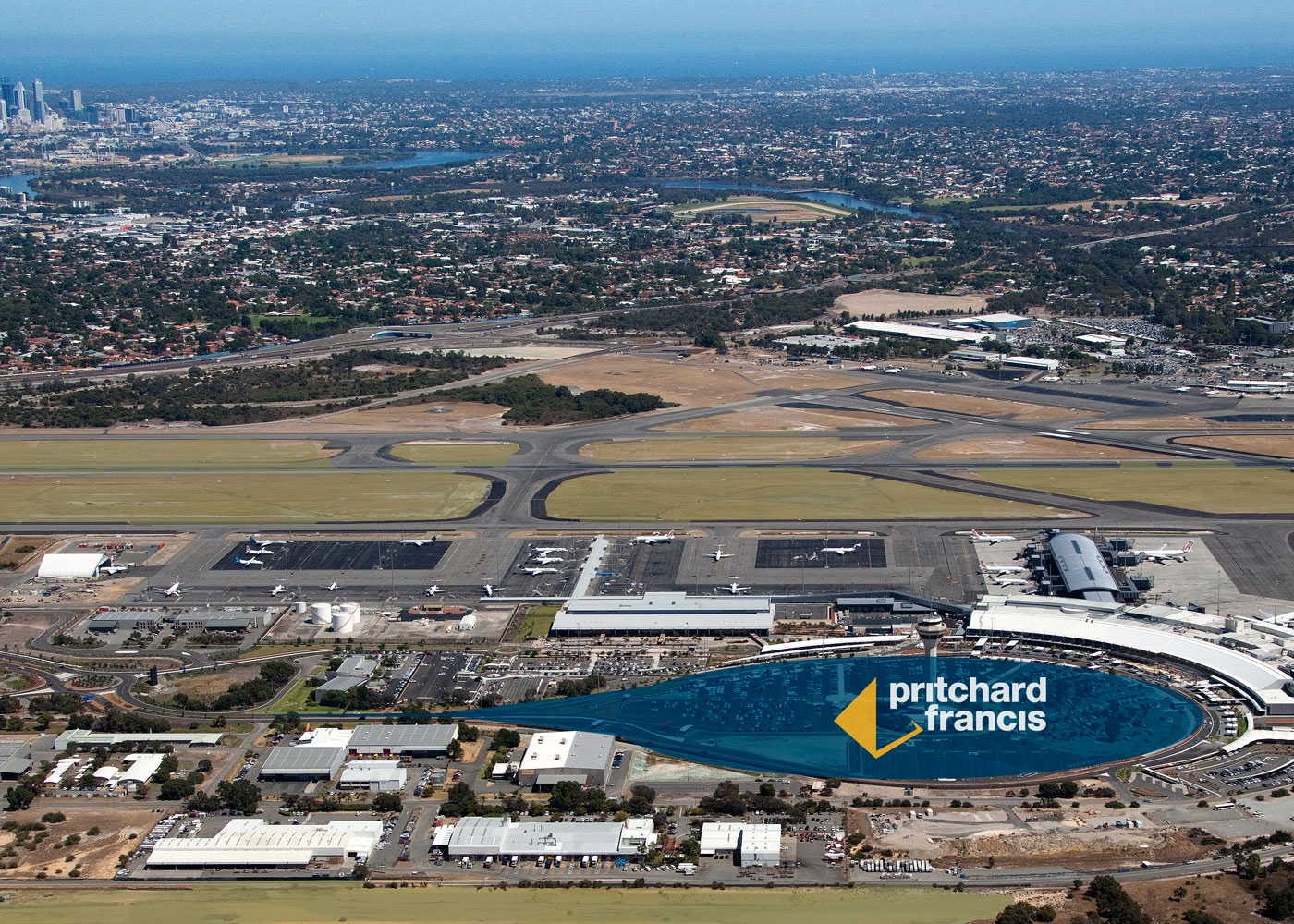 Perth Airport Proximate to Terminal 1 Car Park Extension