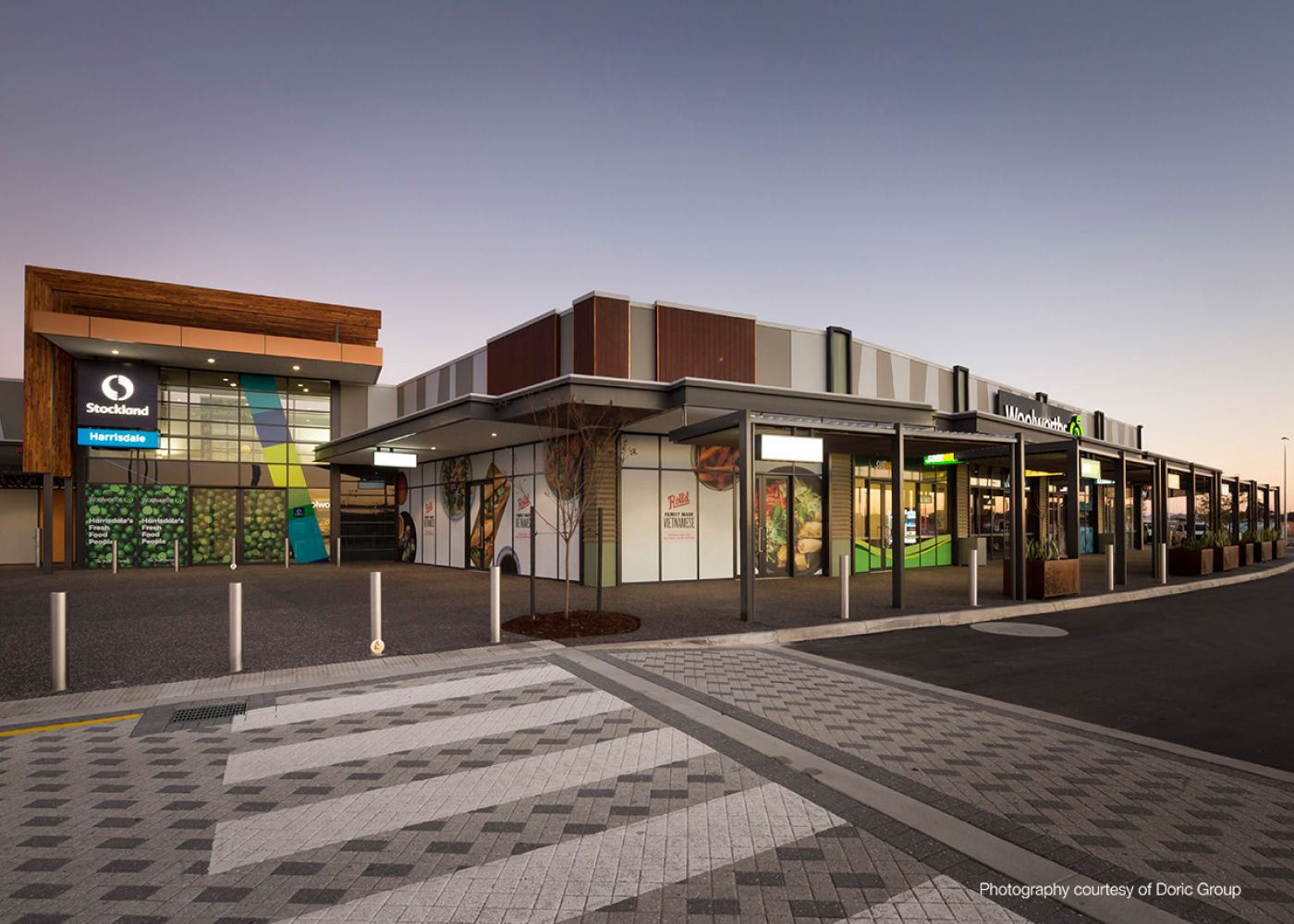 Stockland Harrisdale Shopping Centre Pritchard Francis