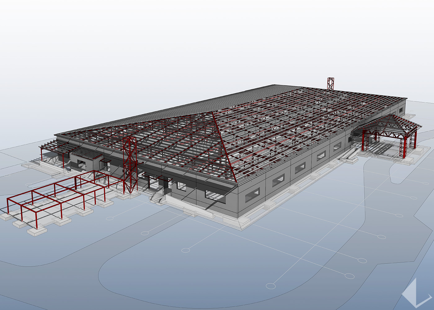 Wheatstone Project LNG Plant - Non Process Infrastructure Buildings : Image 4
